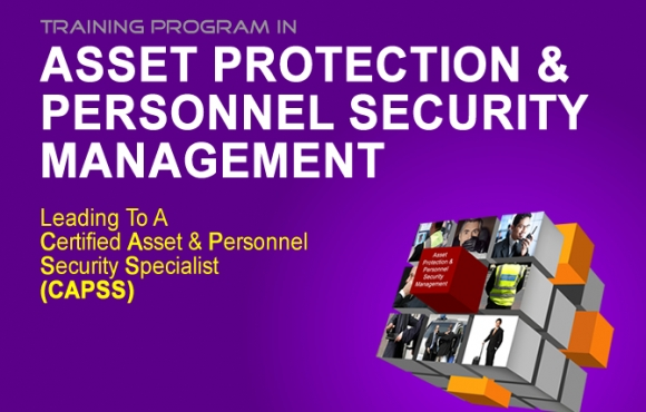 CERTIFIED ASSET & PERSONNEL SECURITY SPECIALIST